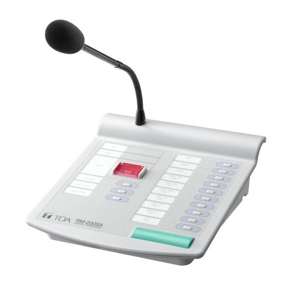 Mikrofon strefowy TOA RM-200SA