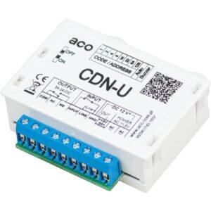 Moduł dodatkowej sygnalizacji optyczno-akustycznej z możliwością otwierania drzwi ACO CDN-U