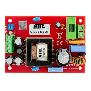 Zasilacz sieciowy moduł do zabudowy ATTE APS‑70‑120‑OF