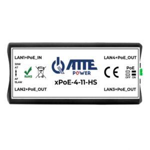Switch PoE 4 portowy ATTE xPoE‑4‑11‑HS