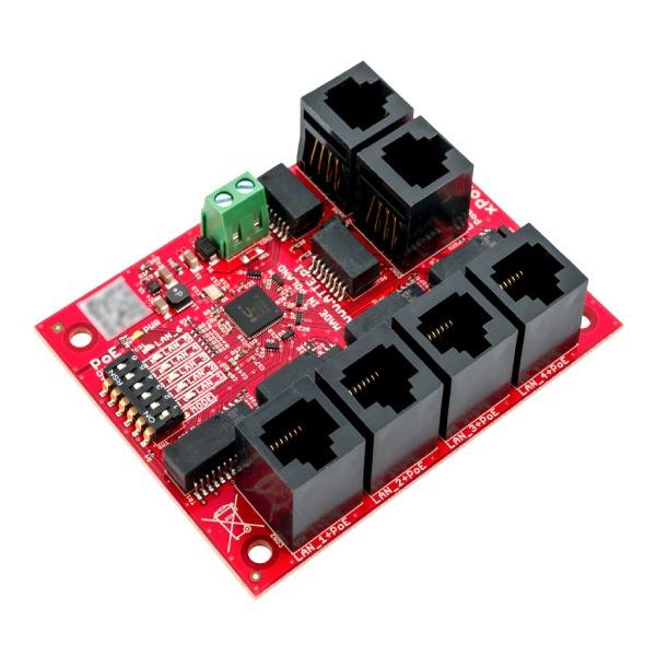 Switch PoE 6 portowy ATTE xPoE‑6‑11‑OF 1