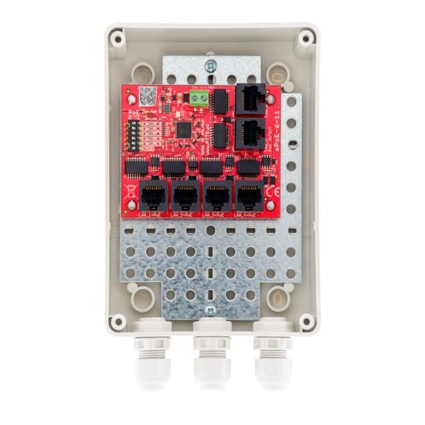 Switch PoE 6 portowy ATTE xPoE‑6‑11‑S2