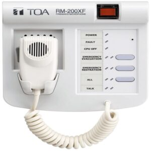 Zdalny mikrofon strażaka TOA RM-200XF
