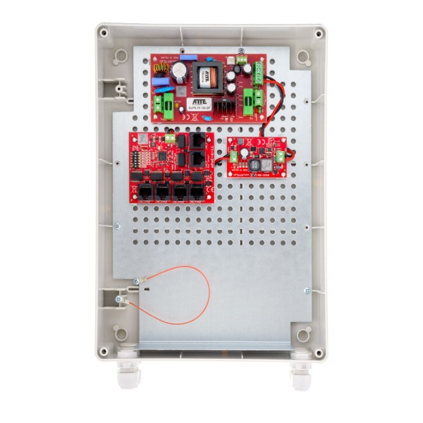 Zestaw buforowy do 5 kamer IP ATTE IPUPS‑5‑11‑XL2