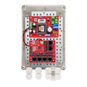 Zestaw do 5 kamer IP ATTE IP‑5‑11‑M2