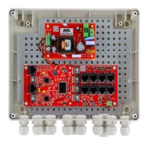 Zestaw do 8 kamer IP ATTE IP‑8‑20‑L2