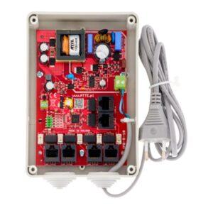 Zestaw do 5 kamer IP ATTE IPB‑5‑10‑S4