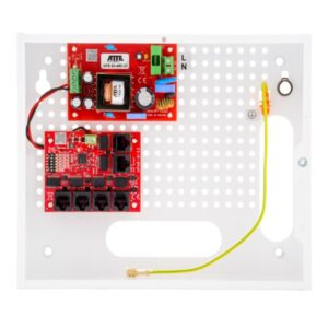 Zestaw do 5 kamer IP portowy ATTE IP‑5‑11‑E