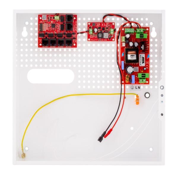 Zestaw buforowy do 8 kamer IP ATTE IPUPS‑5‑11‑F