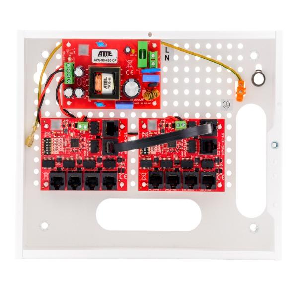 Zestaw do 8 kamer IP ATTE IP‑9‑11‑E