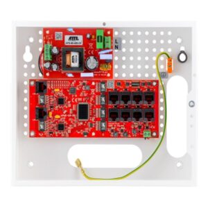 Zestaw do 8 kamer IP portowy ATTE IP‑8‑20‑E