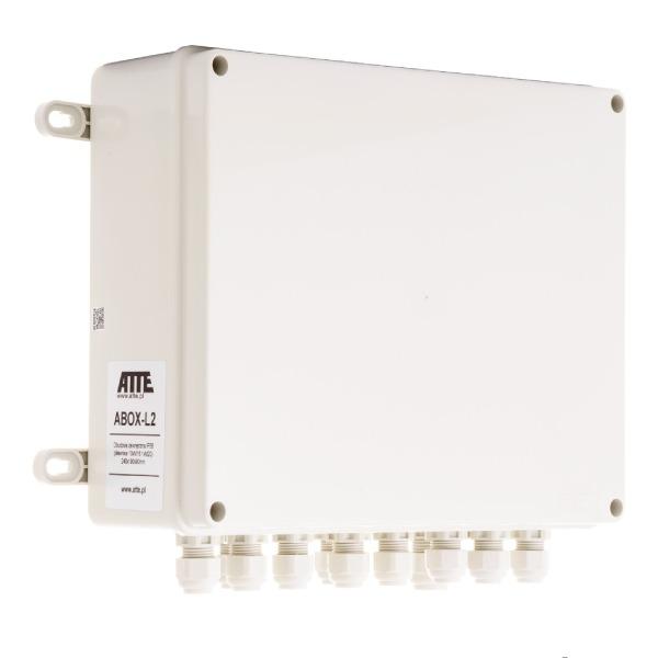 Zestaw do 9 kamer IP ATTE IP‑9‑11‑L2