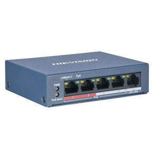 Switch PoE Hikvision DS-3E0105P-E/M(B)