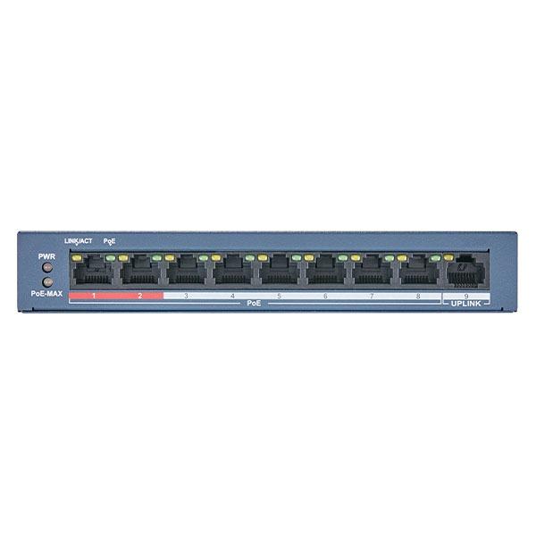 Switch PoE Hikvision DS-3E0109P-E(B)