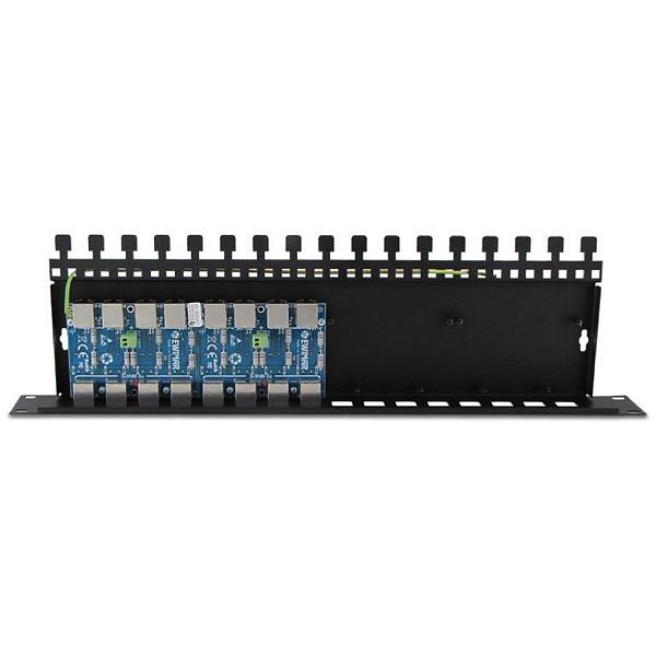 16-kanałowe zabezpieczenie IP serii Extreme z funkcją InPoE EWIMAR PTF-16R-EXT/InPoE