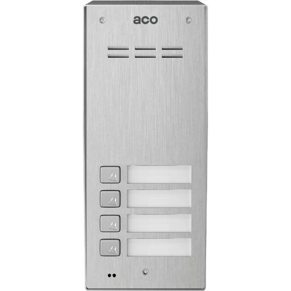 Cyfrowy z czytnikiem breloków i 4 przyciskami ACO FAM-P-4NPACC NT