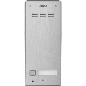 Domofon cyfrowy z czytnikiem breloków i 1 przyciskiem ACO FAM-PRO-A-1NPACC NT