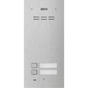 Domofon cyfrowy z czytnikiem breloków i 2 przyciskami ACO COMO-PRO-A2