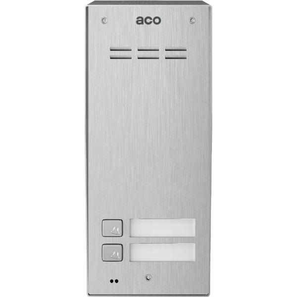 Domofon cyfrowy z czytnikiem breloków i 2 przyciskiem ACO COMO-PRO-A2 NT
