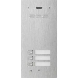 Domofon cyfrowy z czytnikiem breloków i 3 przyciskami ACO COMO-PRO-A3