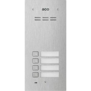 Domofon cyfrowy z czytnikiem breloków i 4 przyciskami ACO COMO-PRO-A4