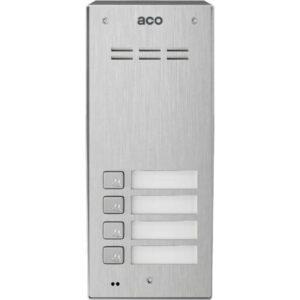 Domofon cyfrowy z czytnikiem breloków i 4 przyciskami ACO COMO-PRO-A4 NT