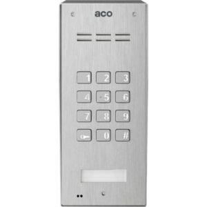 Domofon cyfrowy z zamkiem szyfrowym i czytnikiem breloków ACO FAM-P-ZSACC NT