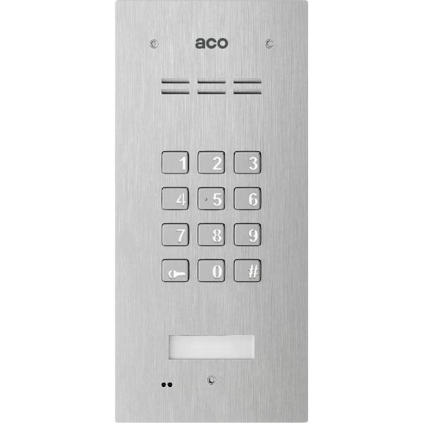 Domofon cyfrowy z zamkiem szyfrowym i czytnikiem breloków ACO FAM-P-ZSACC
