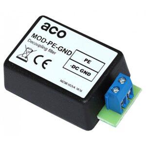 Filtr przeciwzakłóceniowy do systemów domofonowych ACO MOD-PE-GND