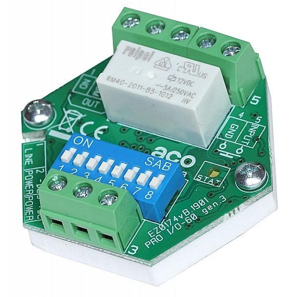 Moduł rozszerzeń do obsługi dodatkowych urządzeń ACO PRO I/O-60 (G3)
