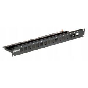 Obudowa Rack do modułów zabezpieczająych serii PTF-64 i PTU-64 EWIMAR PTU/PTF-6-RACK