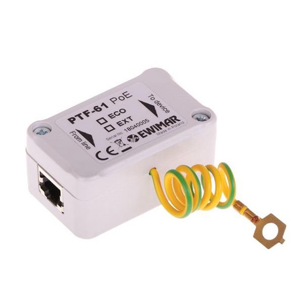 Ogranicznik przepięć gigabitowej sieci LAN EWIMAR PTF-61-EXT/PoE