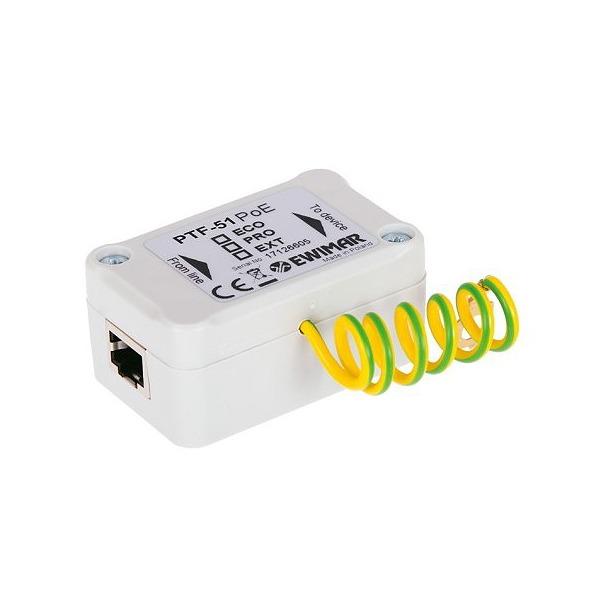 Zabezpieczenie przeciwprzepięciowe LAN / Ethernet EWIMAR PTF-51-PRO/PoE