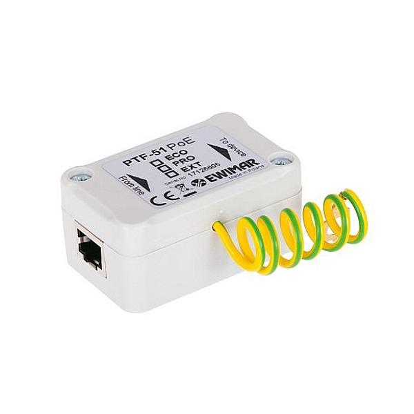 Ogranicznik przepięć sieci LAN serii ECO EWIMAR PTF-51-ECO/PoE