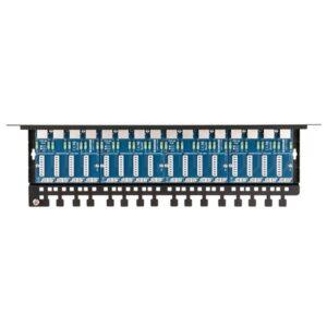 Patch panel LAN / CCTV z ochroną przeciwprzepięciową 16 kanałów EWIMAR PTU-516R-EXT/PoE