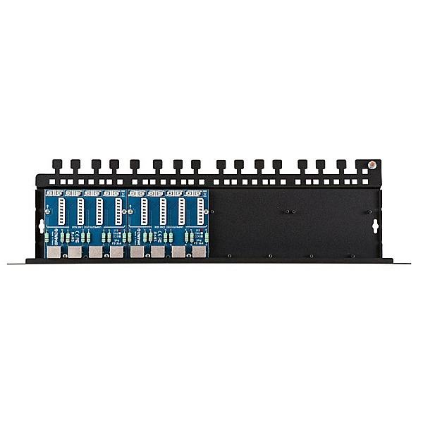 Patch panel LAN / IP -CCTV z ogranicznikiem przepięć EWIMAR PTU-58R-PRO/PoE
