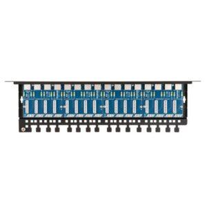 Patch panel LAN / IP-CCTV z zabezpieczeniem przeciwprzepięciowym EWIMAR PTU-516R-ECO/PoE