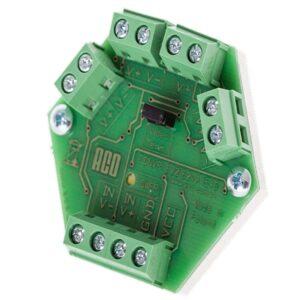 Rozdzielacz aktywny uniwersalny 4-wyjściowy do puszki elektrycznej Ø60 mm ACO CDNVRau4-60