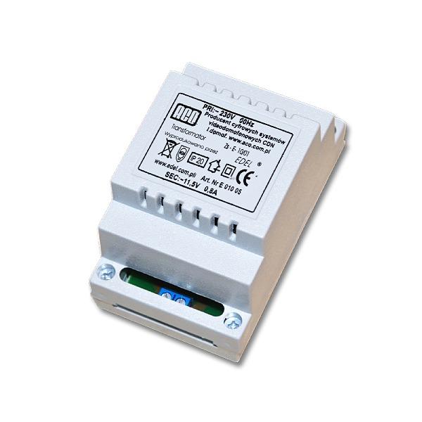Transformator sieciowy ACO TR 11,5V 1,2A DIN