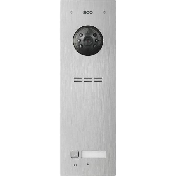 Wideodomofon cyfrowy z czytnikiem breloków i 1 przyciskiem ACO COMO-PRO-V1