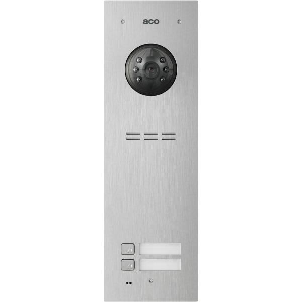 Wideodomofon cyfrowy z czytnikiem breloków i 2 przyciskami ACO COMO-PRO-V2