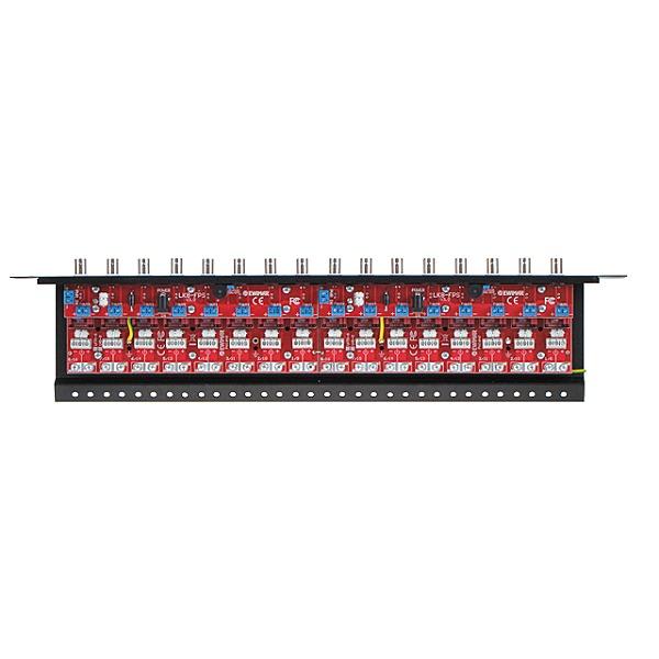 Zabezpieczenie przeciwprzepięciowe na koncentryk i skrętkę z dystrybucją zasilania EWIMAR LHD-16R-PRO-FPS