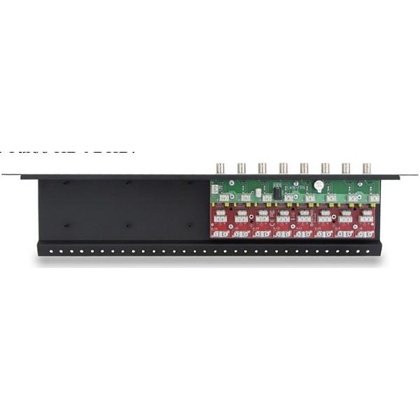 Zabezpieczenie przeciwprzepięciowe na koncentryk i skrętkę LHD-8R serii Extreme z dystrybucją zasilania EWIMAR LHD-8R-EXT-FPS