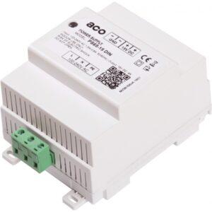 Zasilacz prądu stałego na szynę DIN, z podłączeniem PE ACO PS65-15 DIN