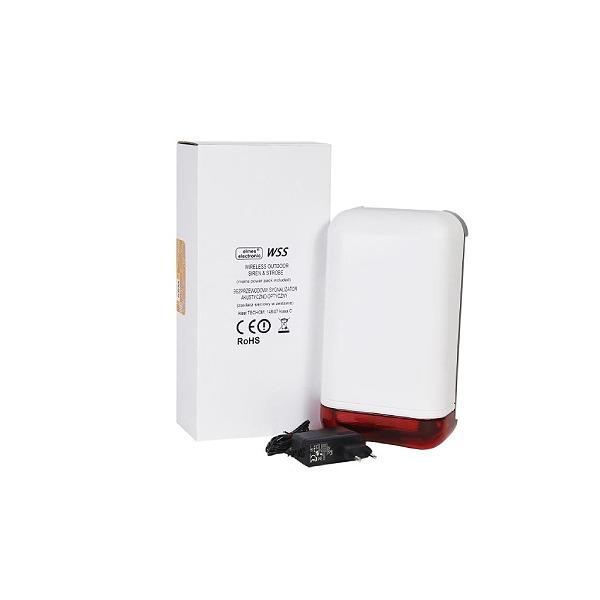 Bezprzewodowy sygnalizator optyczno-akustyczny ELMES WSS