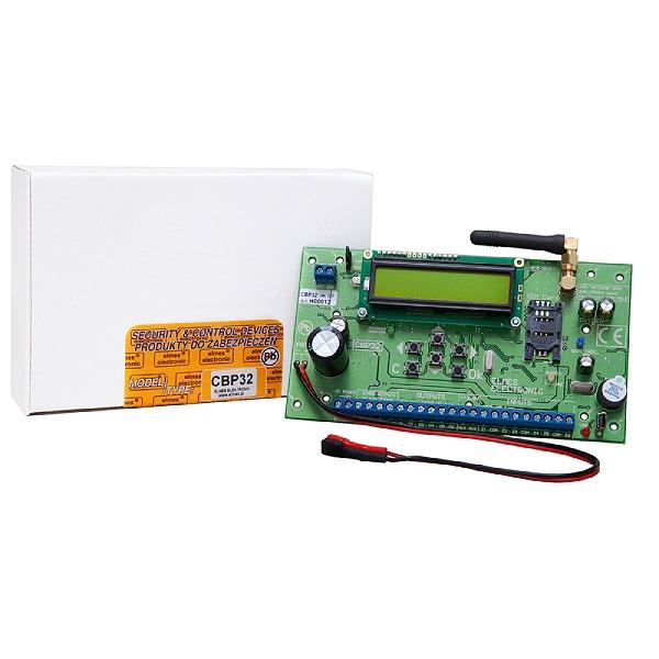 Bezprzewodowo-przewodowa centrala alarmowa z GSM ELMES CBP32