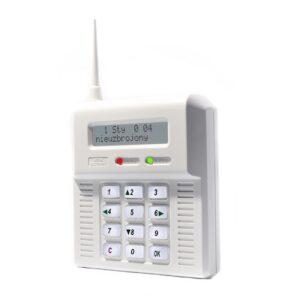 Centrala alarmowa z możliwością podpięcia zew. anteny GSM ELMES CB32 GBS