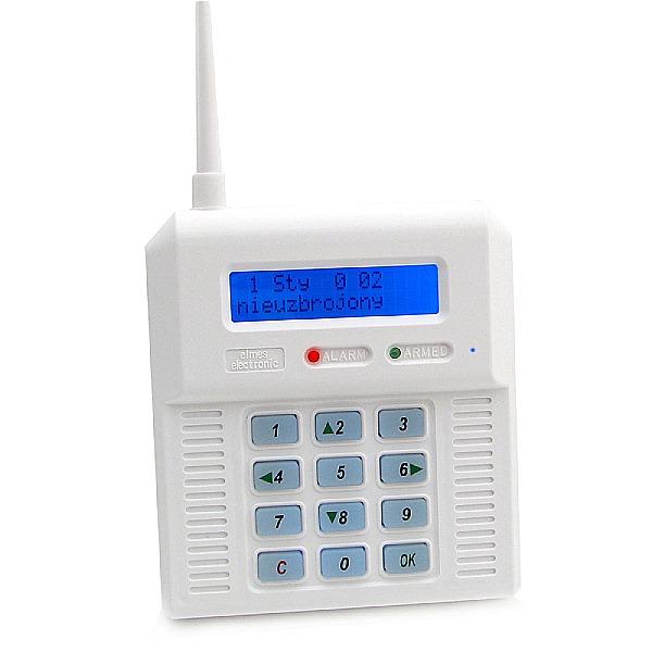 Centrala alarmowa z niebieskim wyświetlaczem ELMES CB32 BN