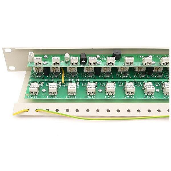 Separator galwaniczny do systemów analogowych z zabezpieczeniem i transformatorami Video EWIMAR LST-16R