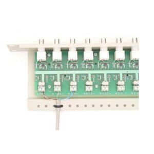 Separator galwaniczny do systemów analogowych z zabezpieczeniem i transformatorami Video oraz dystrybucją zasilania EWIMAR LST-16R-FPS